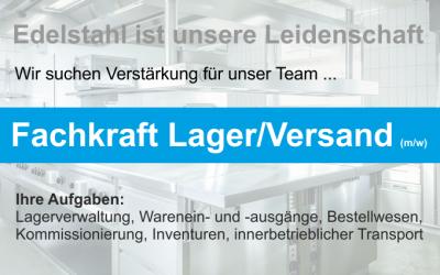 Job@HAKA – Fachkraft Lager/Versand
