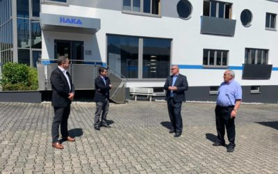 Andreas Hofmeister (MdL) besucht HAKA