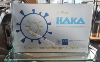 HAKA erhält Corona-Innovationspreis