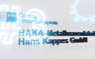 Preisverleihung Corona-Innovationspreis